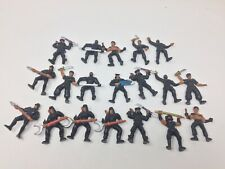Vintage Mattel Guts! Aikido Force Ninja/Samurai soldiers Lot Of 19