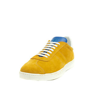 RRP €185 PANTOFOLA D'ORO Suede Leather Sneakers EU 43 UK 9 US 10 Made in Italy