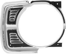 1969 Dodge Dart Headlamp Bezel; RH