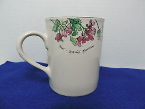 Majesticware Stoneware Creamer - Geranium designed by Sue Zipkin 1997