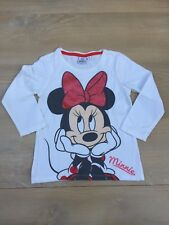 T Shirt Minnie / Taille 4 Ans / Manches Longues