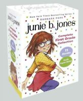 Junie B. Jones Complete First Grade Collection, Paperback by Park, Barbara; B...