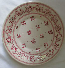 JOHNSON BROTHERS LAURA ASHLEY BURGUNDY PINK RED PETITE FLEUR UNDER-PLATE GRAVY