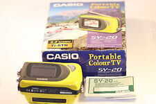 "Very Rare Casio SY-20 Handheld Colour TV 2.3"" LCD"