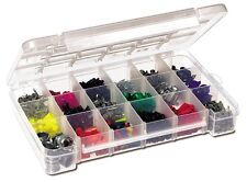 Akro-Mils 5905 Plastic Parts Storage Case for Hardware and Craft, Large, Clear ,