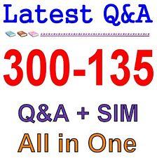 Cisco Best Practice Material For 300-135 Exam Q&A PDF+SIM