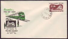 1954 Railway Centenary On Royal First Day Cover - Unaddressed (Ru4745)