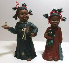 All God's Children Martha Holcombe -Yarn Hair Girls