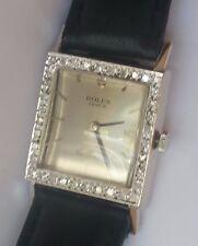 Rolex Cellini Men Wrist Watch 14K Solid White Gold Diamond #10