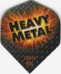 HEAVY METAL Diamond Plate Dart Flights: 3 per set