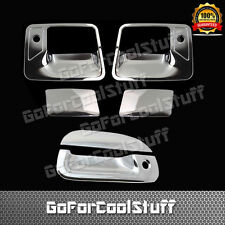 For Ford 1999-2007 F-250/350 Super Duty Chrome 2Dr Handle W/Pskh+Tg Cover W/Kh