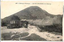 CP 63 - Puy-de-Dôme - Le Puy-de-Dôme et le Tramway