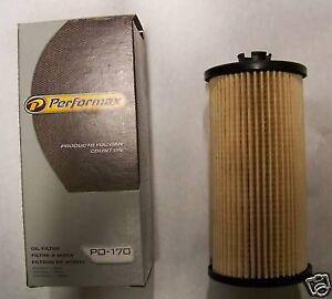 Performax PO-170 Ford V86-OL Diesel 2003-2006 Oil Filter X2
