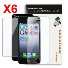 Front/Back Apple® iPhone® 5 Premium LCD Clear Screen Protector Cover [6-Packs]