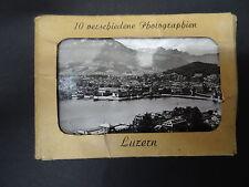 C1950's - 10 Photo Views of Lucerne, Switzerland