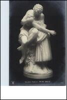 AK ~1910/20 Skulptur Galleria Andreoni PRIMA BACIO; Postkarte