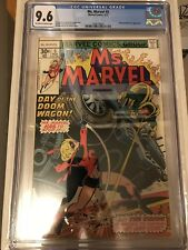 CGC 9.6 Ms. Marvel #5 *OW-White*1977*Vision & M.O.D.O.K. App.*Movie Coming!