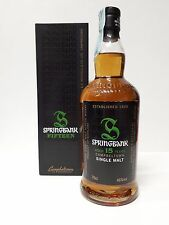 SPRINGBANK 15 YEARS OLD 70CL 46% VOL CON BOX