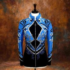 SMALL  Showmanship Pleasure Horsemanship Show Jacket Shirt Rodeo Queen Rail
