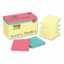Post It Pop Up Notes Value Pack 3 X 3 Canarycape Town 100 Sheet 18pack