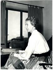 Princesse Marie Gabrielle de Savoie Vintage silver print Tirage argentique