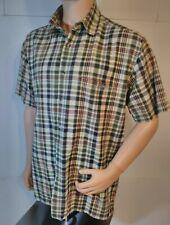 Makaveli brand TUPAC Vtg Sz XL Shirt Button Down Plaid Shirt Makaveli Rhinestone