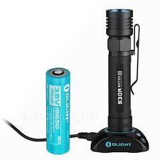 Olight S30R Baton III 1050 Lumen Rechargeable LED Flashlight w/ 3500mAh 18650