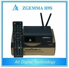NEW MODEL Orig Zgemma H9S with WIFI 4K IPTV UHD Satellite Recei DVB-S2X Stalker