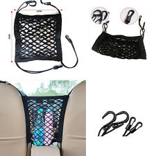 1x Storage Seat Bag Luggage Organizer Holder Cargo Net Hook Pouch Holder for Car