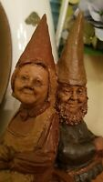 Rare - GRANNIE AND GRAMPS - Edition # 1 - Tom Clark gnome - personally signed