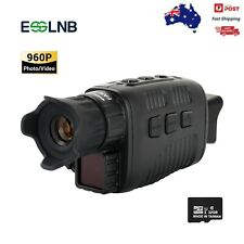 "3-12X Night Vision Monocular with 1.5"" TFT LCD 7 Grades IR Camera Video Recorder"