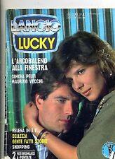 LUCKY # Mensile di Fotoromanzi - Anno XX - N.234 # 17 Novembre 1987 Lancio