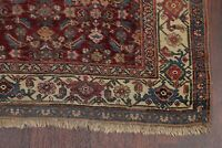 Pre-1900 Antique Vegetable Dye All-Over Bidjar Halvaei Area Rug Wool Carpet 4x7