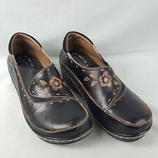 L'Artiste Spring Step Shoes Burbank Clogs Black Leather EU 38 / US 8 Light Use
