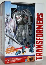 Transformers Age Of Extinction Platinum Silver Knight Optimus Prime Figure