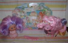 Lady Lovely Locks * LOT * Silkypup Dog & Rare Pearly Peek + comb Excellent 1980s