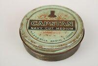 Capstan Navy Cut Medium Tobacco Tin Vintage Bristol, UK.