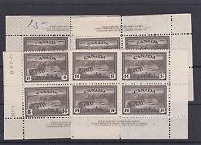 #270 Matched Set 1F + 3VF MNH Cat $145 Canada mint
