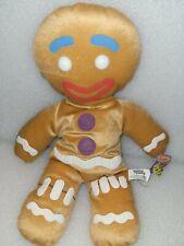 "17"" Nanco Shrek the Third Gingy Plush Doll Gingerbread Man Stuffed Animal"