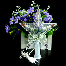 Hot Sale Colorful Changing Xmas Christmas Star Light Party LED Lamp Decoration