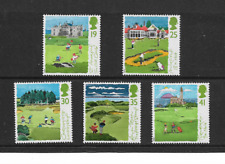 1994 GB.- Scottish Golf Courses - Full Set of Five - Mint and Never Hinged.