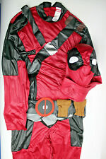 Marvel Universe Deadpoolc Costume Red/Black