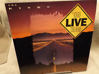 KINKS / LIVE / VG+ CONDITION