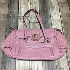 Guess Rose Lekika Satchel Purse Faux Leather Silver Accents Style # VY376005