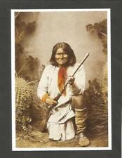 POSTKARTE INDIANER- AMERIKA GERONIMO CHEF APACHE CHIRICAHUA