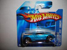 2007 Hot Wheels Mainline #086 Cadillac Cien Concept Blue w/ PR5s SHORT CARD VHTF