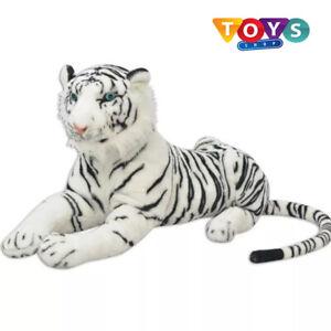 XXL Extra Large Giant Huge Big Soft Plush White Tiger Stuffed Animal Toy Gift Uk