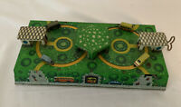 VINTAGE RUSSIAN TIN LITHO WIND-UP TOY BUS STATION CARS & TUNNEL ABTOTPACCA 1960s
