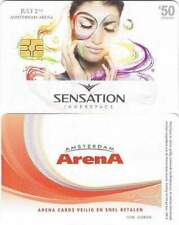 Arenakaart A124-01 50 euro: Sensation innerspace 2011