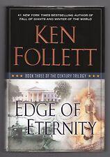 EDGE OF ETERNITY by Ken Follett (2014 Hardcover) BOOK #3 CENTURY TRILOGY